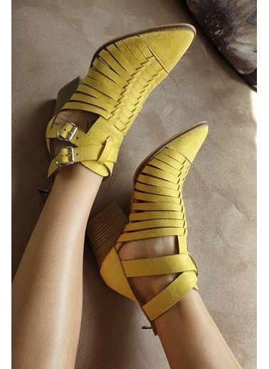 Topukla Bot Sarı